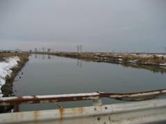 海沿いには同じく政宗公の命で造られ、地元から愛され続けた「貞山堀」。江戸時代を通じて延伸され、物流を担う日本一の運河となりました。