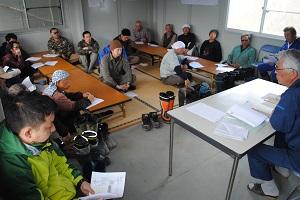宮城中央森林組合作業班への造林講習会