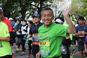 今年は3回も名取で作業いただいた3年連続ランナーの藤澤さん。宮城で被災し、いまは大阪在住
