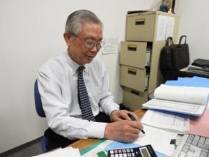 小野事務局長。オイスカ歴は20年以上