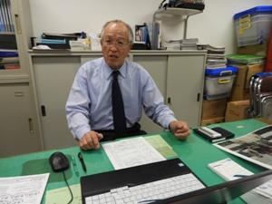 加藤事務局次長。加わっていただいて1年。ご苦労おかけしています