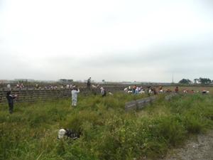 午前午後トータルで200人を超える参加者でした