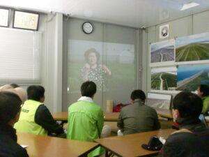 まずは、図面とドローン動画を見て、植栽地全体を大まか把握。