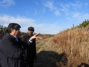 右:大使閣下、左:永石専務