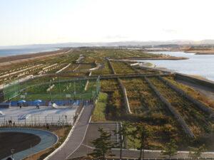 2020年11月22日 再び営業が始まったサイクルセンター屋上から撮影
